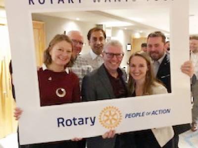 Showcasing Rotary