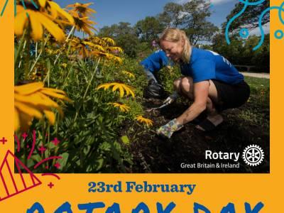 Happy 116th Birthday Rotary